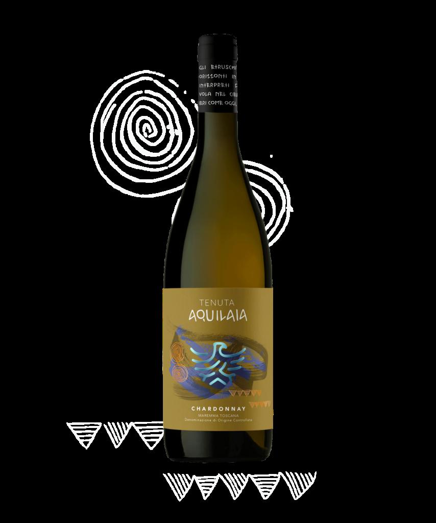 Lo Chardonnay di Tenuta Aquilaia, IGT Maremma Toscana.