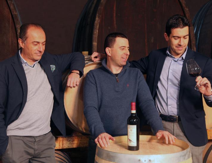I soci dell'azienda vinicola Tenuta Aquilaia